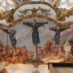 """Das Martyrium von Nagasaki, Landsberg am Lech, Hl. Kreuz (c) FWF-Projekt """"Erdteilallegorien"""", Univ. Wien"""