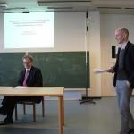 1. Vortrag von Rainald Becker: Dillingen an der Donau als Gelehrtenzentrum